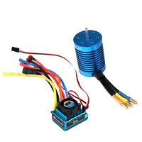 F540 4370KV Sensorless Brushless Motor+45A ESC Waterproof for 1:10 RC Buggy