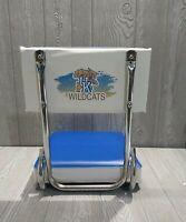 Vintage University Of Kentucky Portable Cushioned Stadium Bleacher Seat