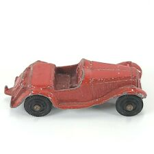 Vintage 1970's TootsieToy Red MG Roadster Diecast Toy Car