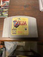 The Legend Of Zelda: Ocarina Of Time N64 Nintendo Authentic Cartridge