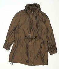 Marks & Spencer Womens Size 16 Brown Raincoat