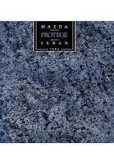 MAZDA PROTEGE SEDAN  Sales Brochure  1992