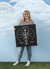 LRG MDF Halloween Ouija Board Halloween Decoration Skeleton Sign HW Prop REJECT