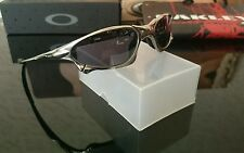 OAKLEY PENNY X METAL POLISHED SUNGLASSES BOX COIN Serialised XMETAL LENS BAG