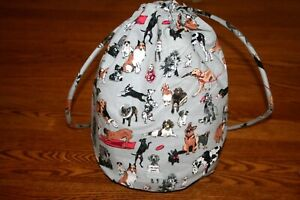 Vera Bradley Best In Show Ditty Bag puppies dogs case makeup travel RARE NEW