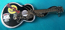 BALTIMORE ELVIS PRESLEY DEAD ROCKER ACOUSTIC GUITAR SERIES Hard Rock Cafe PIN