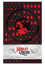 DC Harley Quinn Ruled Hardcover Pocket Journal Diary Notebook