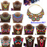 Ethnic Tribal Boho Tassel Choker Bib Statement Necklace Pendent Bohemia Necklace