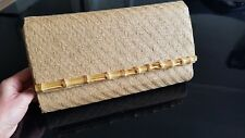 H&M Clutch Bag Womens Ladies Beige Clutch Bag