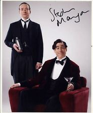 Stephen Mangan Autograph Signed 10x8 Photo AFTAL [5120]