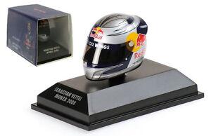 Minichamps Arai Helmet Monza Italian GP 2008 - Sebastian Vettel 1/8 Scale