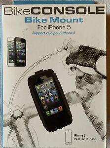 Tigra BikeConsole Bike Mount for iPhone 5 WHITE Detachable Waterproof Lock Case