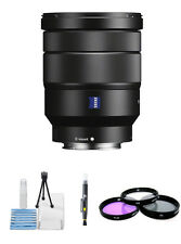 Sony Vario-Tessar T* FE 16-35mm f/4 ZA OSS Lens W/ UV BUNDLE
