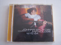 CD JOHNNY HALLYDAY REMASTERISE , ANTHOLOGIE 1975 - 1984 , 18 TITRES . BON ETAT .