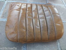 Original Mercedes W108 W109 W115 Sitz Bezug Unterteil Cognac Leder Leather TOP