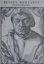 PETRUS MONTANUS (1494-1638) Père de la phonologie et la phonétique néerlandaise.