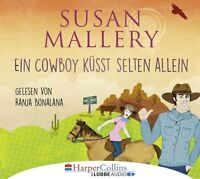 RANJA BONALANA - SUSAN MALLERY: EIN COWBOY KÜSST SELTEN ALLEIN  4 CD NEU