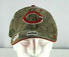 MLB   Cincinnati Reds Men's Camo Baseball Hat Adjustable