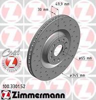 Promo jeu de disques perce zimmermann VW GOLF V 5 3.2 R32 4motion 184ch