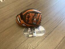 "New Wilson A2K DI88 11.25"" I Web Baseball Glove Black Brown"