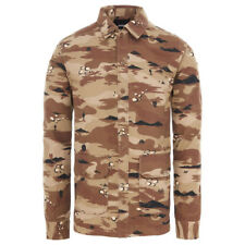 Vans WINCHESTER Mens Button Front Shirt Jacket Medium Storm Camo NEW 2018