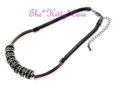 Modeschmuck-Halsketten & -Anhänger aus Kristall mit Strass Hämatit