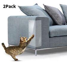 2Pcs Pet Cat Scratch Guard Mat Cat Scratching Post Furniture Sofa Protector Set
