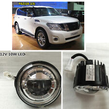 1 Pair Front LED Fog Light Driving Ligh For Nissan Patrol Y62 Infiniti QX56 QX80