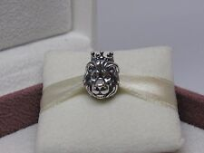 New w/Box Pandora King of the Jungle Lion Charm 791377 Africa Zoo Lion