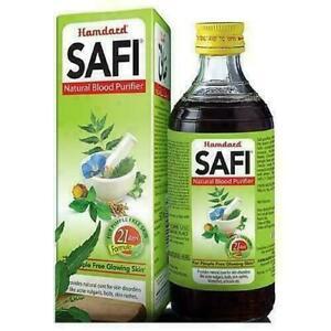 Herbal Hamdard Safi Syrup Free Remove Impurities & Blood Purifier Skin Pimple