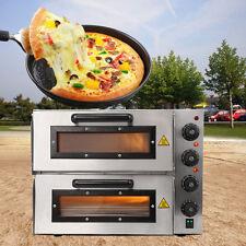 Commercial partito ristorante elettrico Pizza Forno di cottura Double Deck
