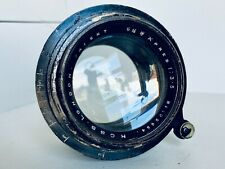 """Ross London Patent 6 1/2"""" Xpres F3.5 Fast 5x4"""" Large Format Vintage Brass Lens"""