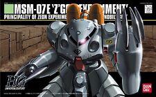 BANDAI HGUC 1/144 MSM-07E Z'GOK E Plastic Model Kit Mobile Suit Gundam 0080