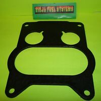 """GASKET 5//16/"""" THICK REINF CORNERS ROCHESTER 2 BARREL CARB TO INTAKE INSULATOR"""