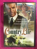 Country Life DVD Sam Nell Greta Scacchi Michael Blakemore Spagnolo Inglese Rara