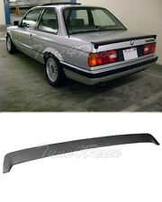 85-91 BMW 3-Series E30 Rear Trunk Lip Spoiler wing BB-S Style JDM Fiberglass New