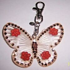 W/ Crystals Anywhere Clip New Genuine Tarina Tarantino Large Lucite Butterfly