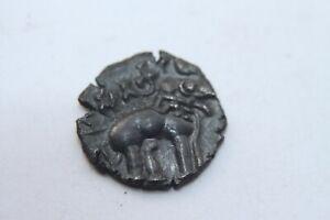 ANCIENT INDIA - SATAVAHANA Empire - 150/180 AD - Elephant - RARE COIN
