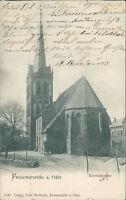 Ansichtskarte Freienwalde a. Oder Nicolaikirche 1917  (Nr.897)