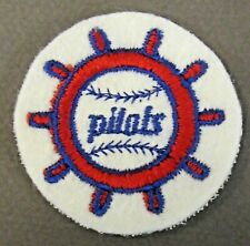 1969 SEATTLE PILOTS embroidered SOFT cloth ROUND shirt or hat patch
