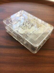 Raspberry Pi 3 B+ Case, Clear Acrylic, Canakit