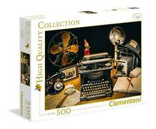 Clementoni The Typewriter High Quality Jigsaw Puzzle (500 Pieces)