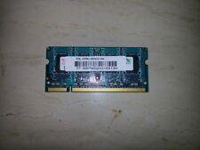 RAM MEMORIA 1 GB DDR2 PC2 667 200 Pc SODIMM NOTEBOOK PORTATILE HP ACER DELL MSI