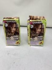 2 pack Garnier Nutrisse Balayage Lightening Creme #BY1 ICING SWIRL Ultra Color