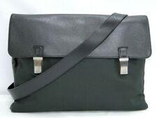 Louis Vuitton Shoulder Bag Taiga Saratov GM M30882 Black France 41170355000 P