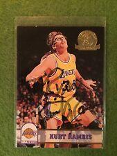 Kurt Rambis Basketball Card Signed/ Auto 1993-94 NBA Hoops #355 5th An Jersey 30