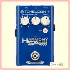 TC Helicon Harmony Singer Guitar / Vocal  Effects Pedal Voice processor