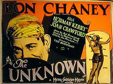 The Unknown - 1927 - Lon Chaney Tod Browning  - Vintage Silent Horror Film DVD
