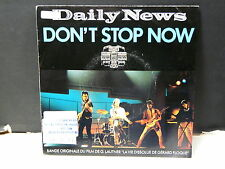 BO FIlm OST La vie dissolue de Gerard Floque DAILY NEWS Don't stop now 885533-7
