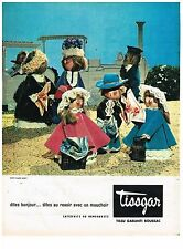 PUBLICITE ADVERTISING  1960    TISSGAR   mouchoirs